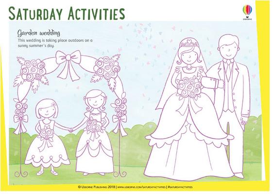 Fichas gratis en inglés ¡Celebremos la boda real con actividades divertidas!