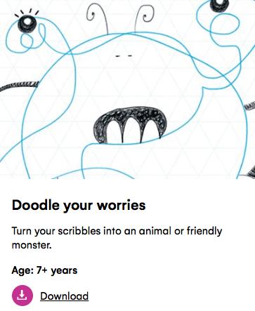 doodle your worries petit londoner
