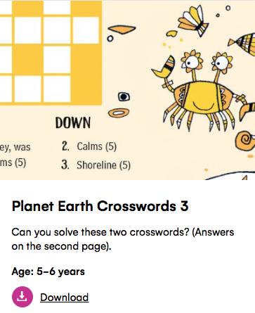 planet earth crossword petit londoner