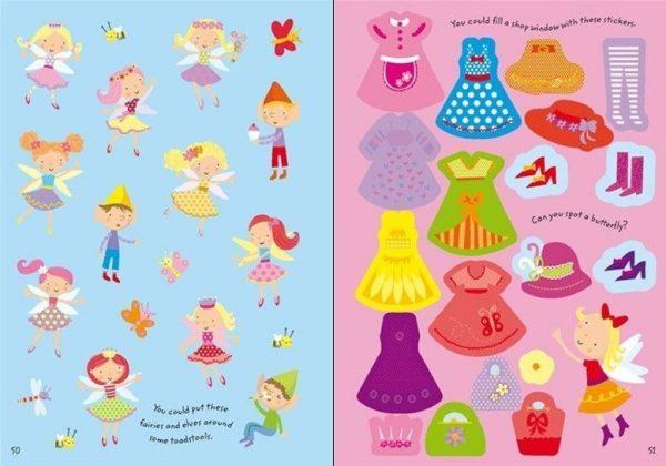 1000 Fairy Stickers - Hadas