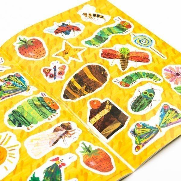 The very hungry caterpillar sticker book