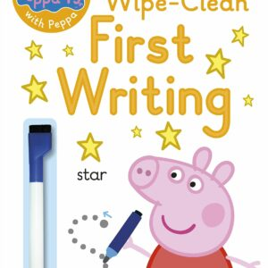 Wipe-clean Peppa first writing