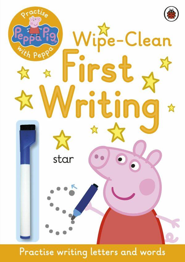 Wipe-clean Peppa first writing
