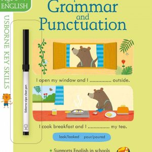 Wipe-clean Grammar and Punctuation 6-7 años