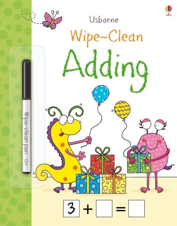 Wipe-clean Adding