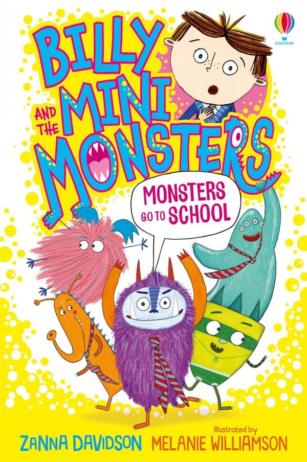 Monsters Go to School #9 - Billy & the Mini Monsters