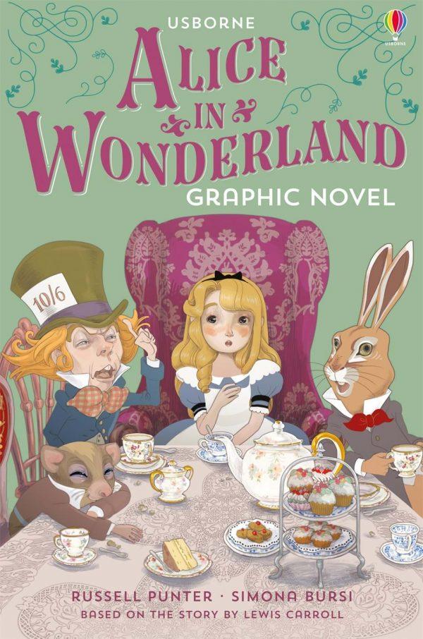 Alice in Wonderland Novela Gráfica