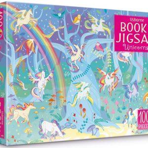 Unicorns sticker book and jigsaw