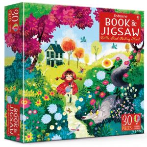 Caperucita Roja - Puzzle y Libro +3 años