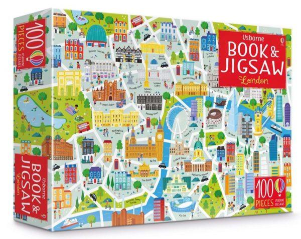 Conjunto Puzzle de Londres + Libro