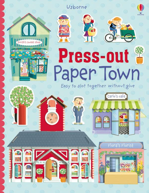 Construye tu ciudad de papel