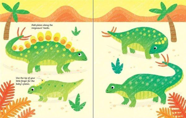 Fingerprint Activities: Dinosaurs