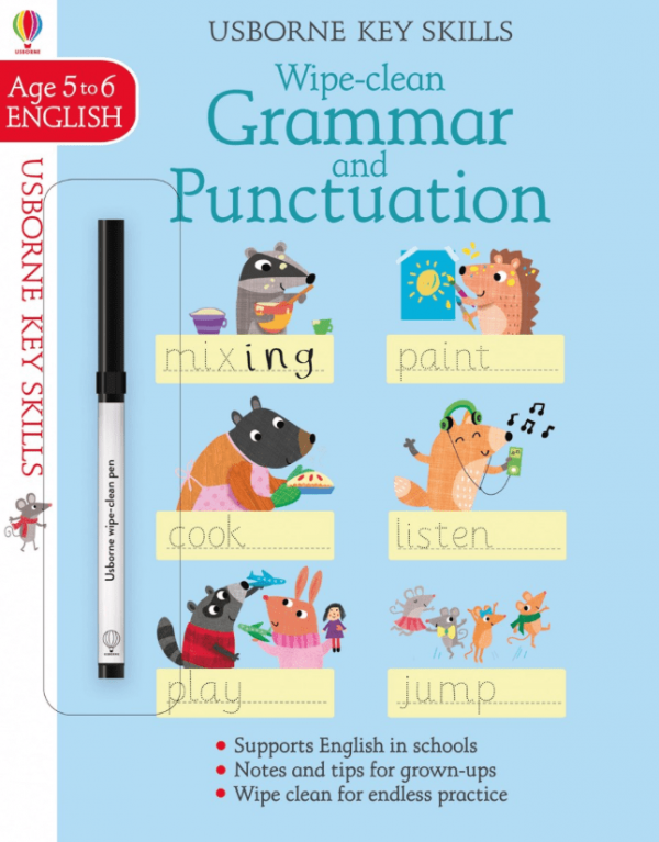 Wipe-clean Grammar and Punctuation 5-6 años