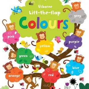 Lift-the-flap colours + 3 años