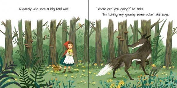 Little Red Riding Hood - Little Board Book