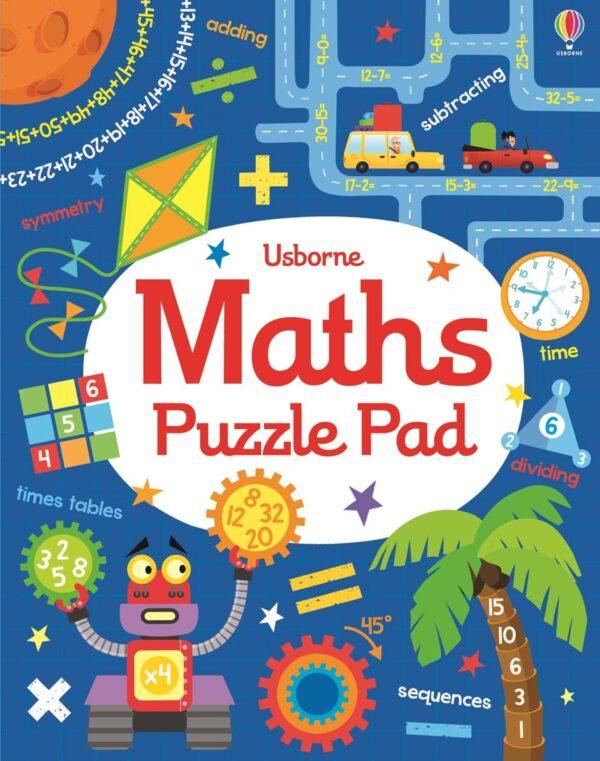 Maths Puzzles Pad