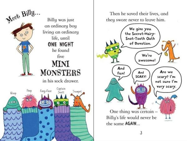 Monsters on the Move #6 - Billy & the Mini Monsters