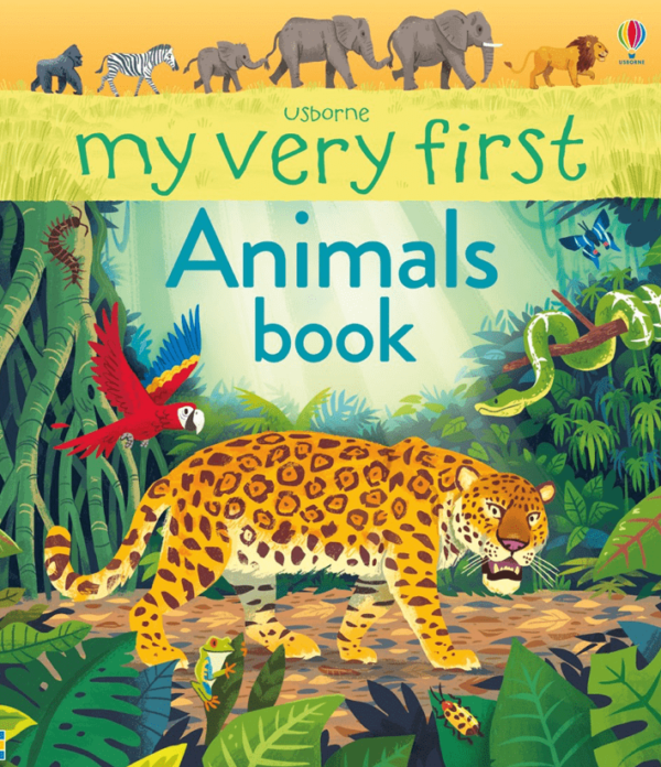 My Very First Animals Book +3 años