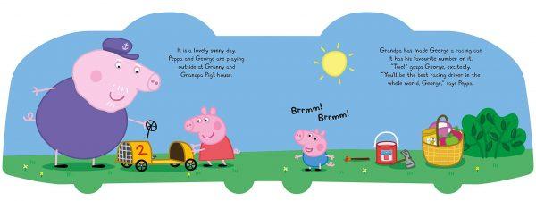 Peppa Pig: Slow down, George!