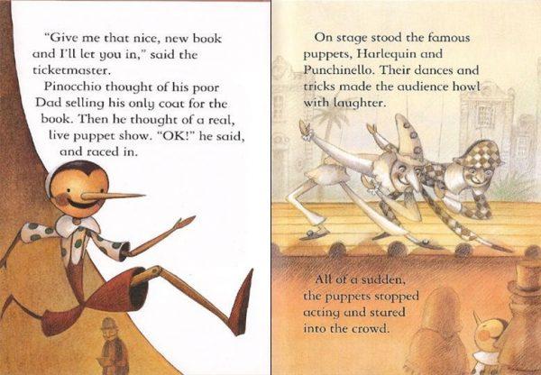 Pinocchio - Book + CD
