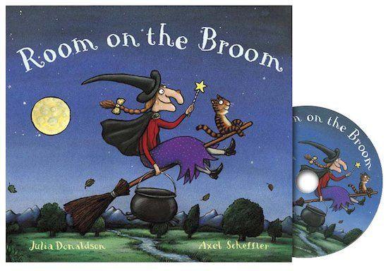 Room on the Broom (book + CD)