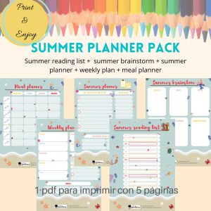 Summer Planner Pack