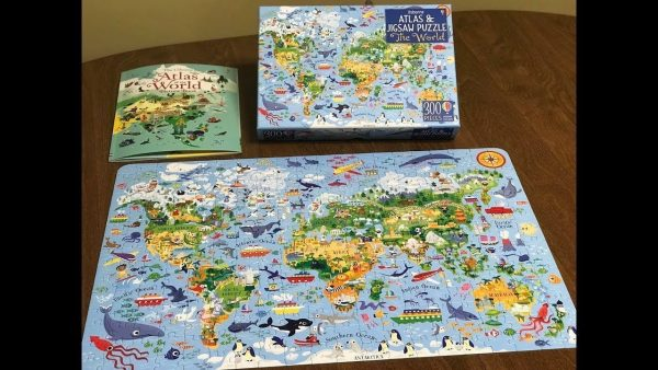 The World Atlas+Puzzle