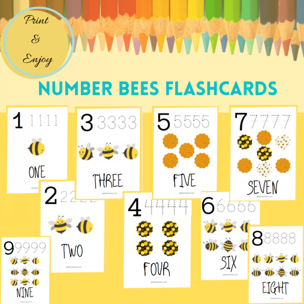 Tracing Numbers 1 to 9