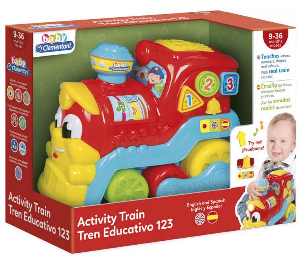Tren Educativo 123 Inglés/Español