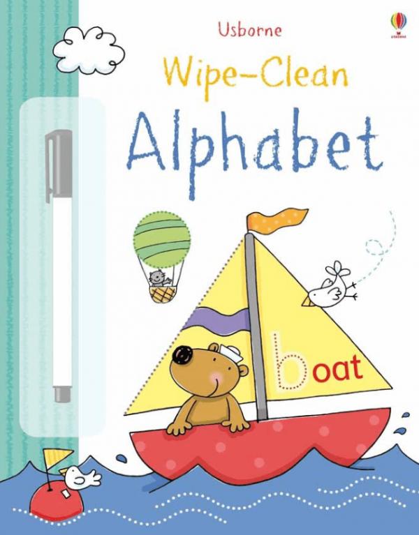 Wipe-Clean Alphabet