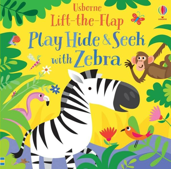 Play Hide and Seek with Zebra