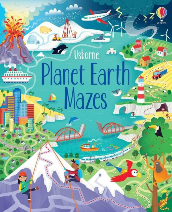 planet earth mazes book cover