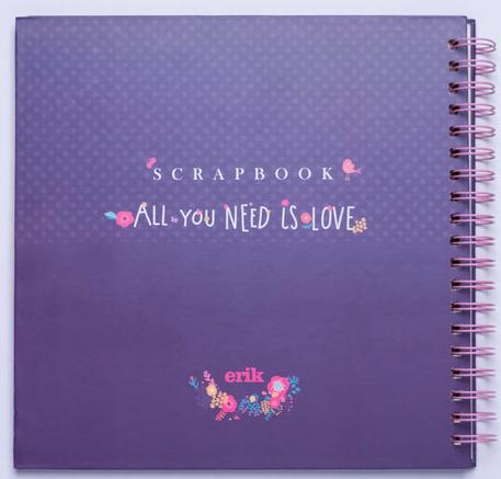 ScrapBook All You Need is Love -Álbum de fotos