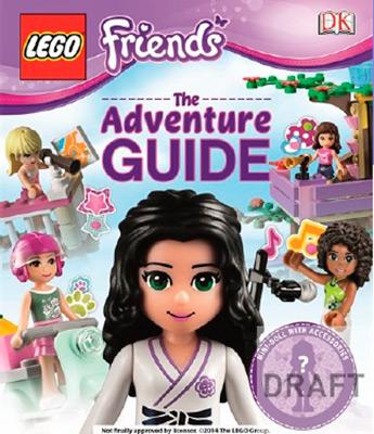 LEGO FRIENDS THE ADVENTURE GUIDE