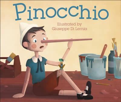 PINOCCHIO DK ILLUSTRATED CLASSICS
