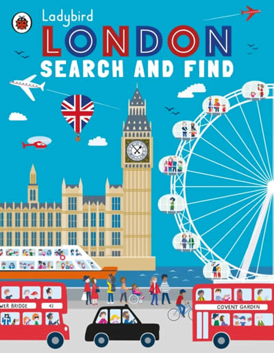 LADYBIRD LONDON SEARCH AND FIND