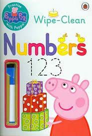 PEPPA PIG: PRACTICE WITH PEPPA NUMBERS