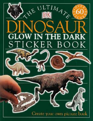 DINOSAUR GLOW IN THE DARK STICKER BOOK