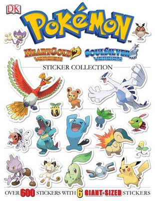 POKEMON HEARTGOLD & SOULSILVER ULTIMATE STICKER BO