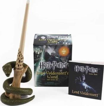 HARRY POTTER VOLDEMORT'S WAND WITH STICK