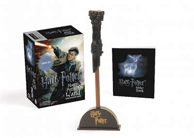 HARRY POTTER WIZARD'S WAND WITH STICKER