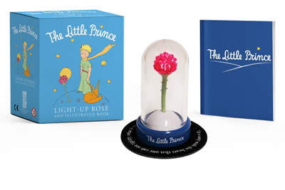THE LITTLE PRINCE: LIGHT-UP ROSE AND BOOK