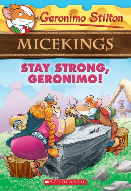 STAY STRONG GERONIMO!