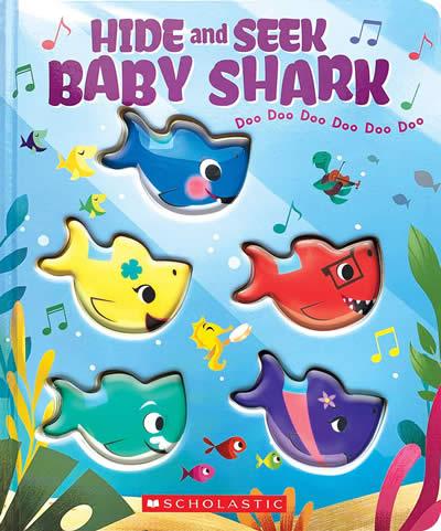 HIDE-AND-SEEK BABY SHARK!