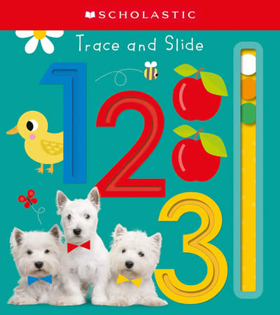 TRACE AND SLIDE 123: SCHOLASTIC EARLY LEARNERS