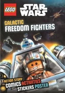 LEGO STAR WARS STICKER POSTER GALACTIC FREEDOM FIG