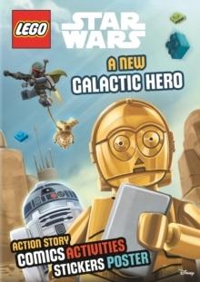 LEGO STAR WARS STICKER POSTER NEW GALACTIC HERO