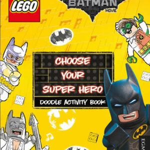 LEGO DC BATMAN CHOOSE YOUR HERO DOODLE BOOK