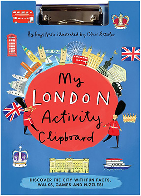 MY LONDON ACTIVITY CLIPBOARD