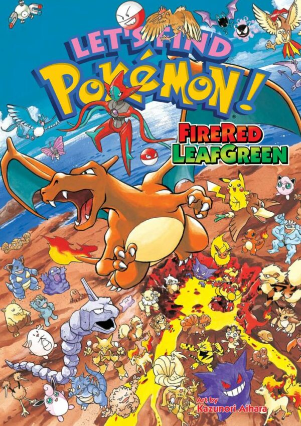 LET'S FIND POKEMON! FIRERED LEAFGREEN